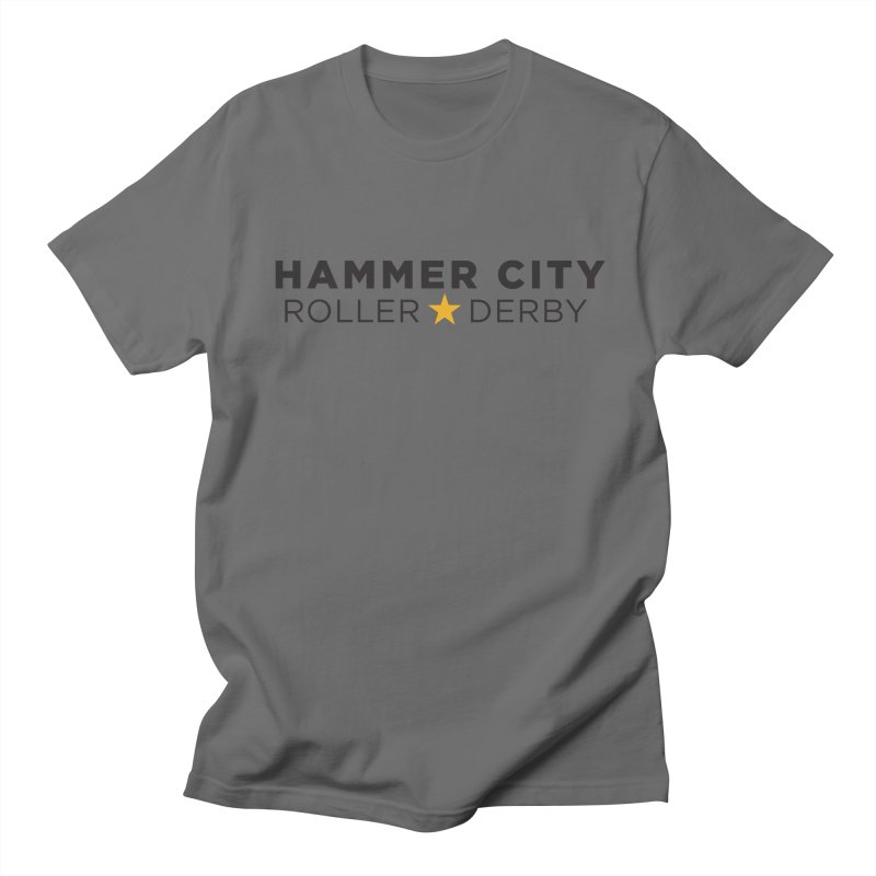HCRD Banner Women's Unisex T-Shirt by Hammer City Roller Derby