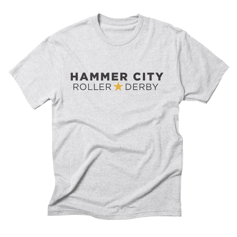 HCRD Banner Men's Triblend T-Shirt by Hammer City Roller Derby