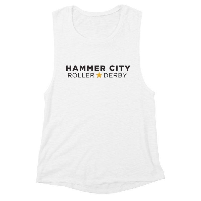 HCRD Banner Women's Tank by Hammer City Roller Derby