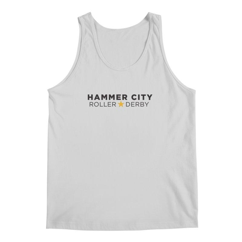 HCRD Banner Men's Regular Tank by Hammer City Roller Derby