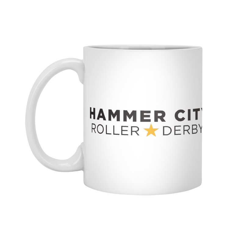 HCRD Banner Accessories Mug by Hammer City Roller Derby