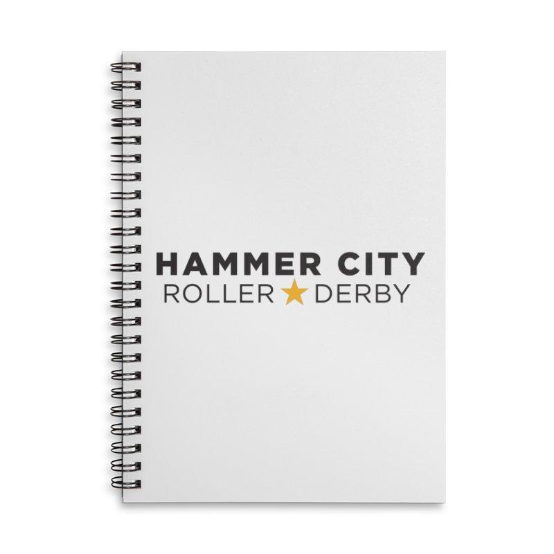 HCRD Banner Accessories Notebook by Hammer City Roller Derby