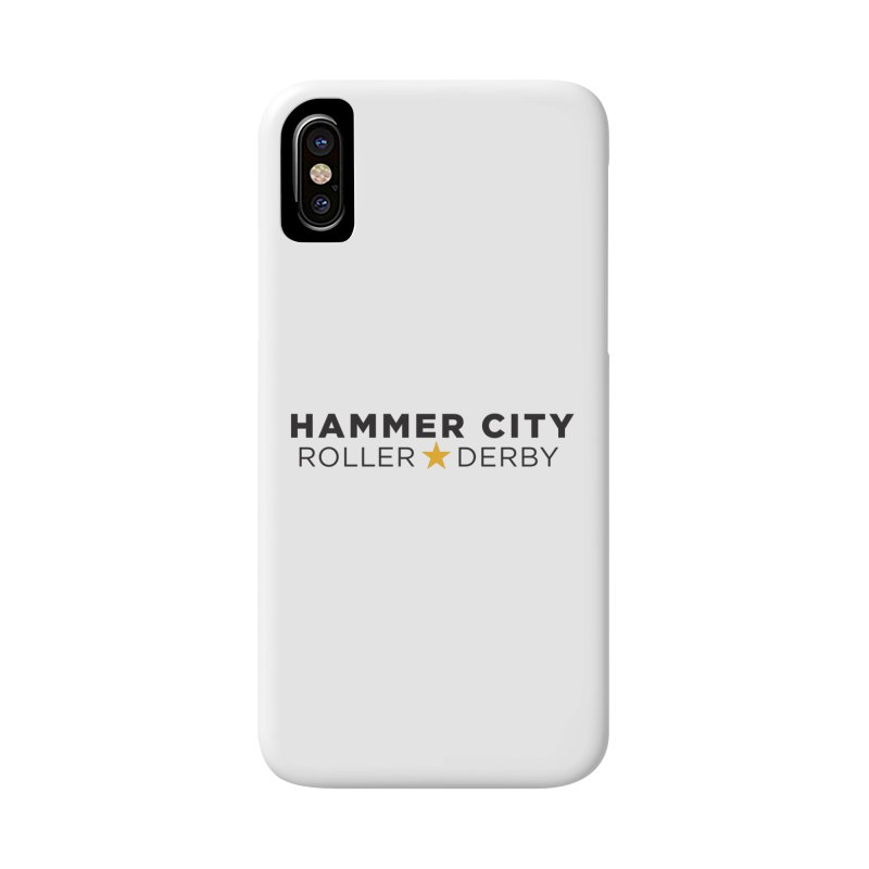 HCRD Banner Accessories Phone Case by Hammer City Roller Derby