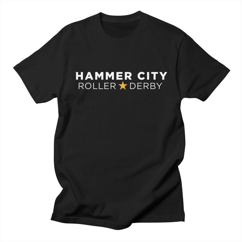 HCRD Banner Women's Regular Unisex T-Shirt by Hammer City Roller Derby