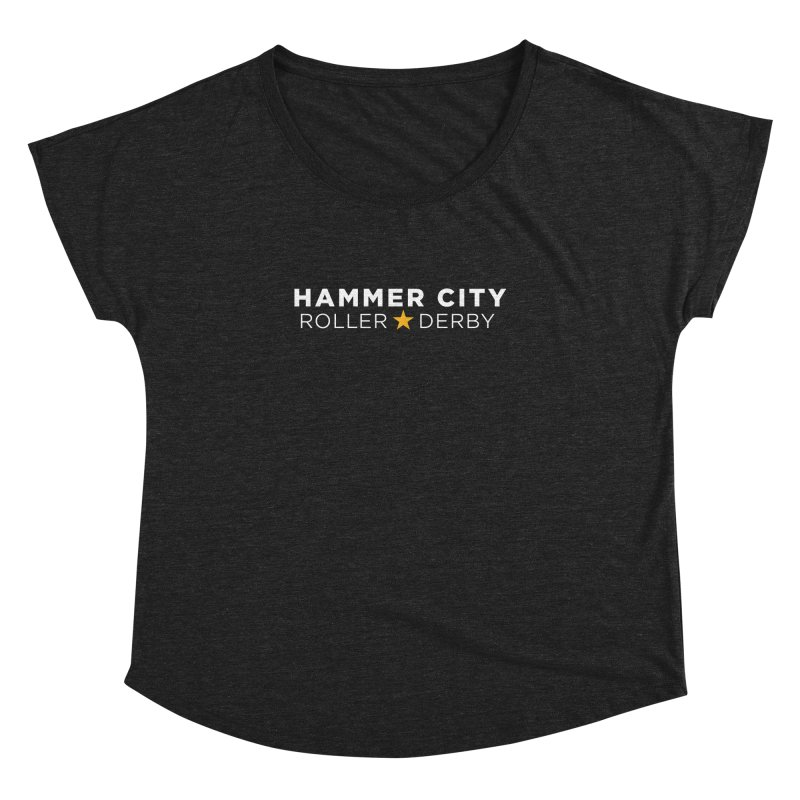 HCRD Banner Women's Dolman by Hammer City Roller Derby