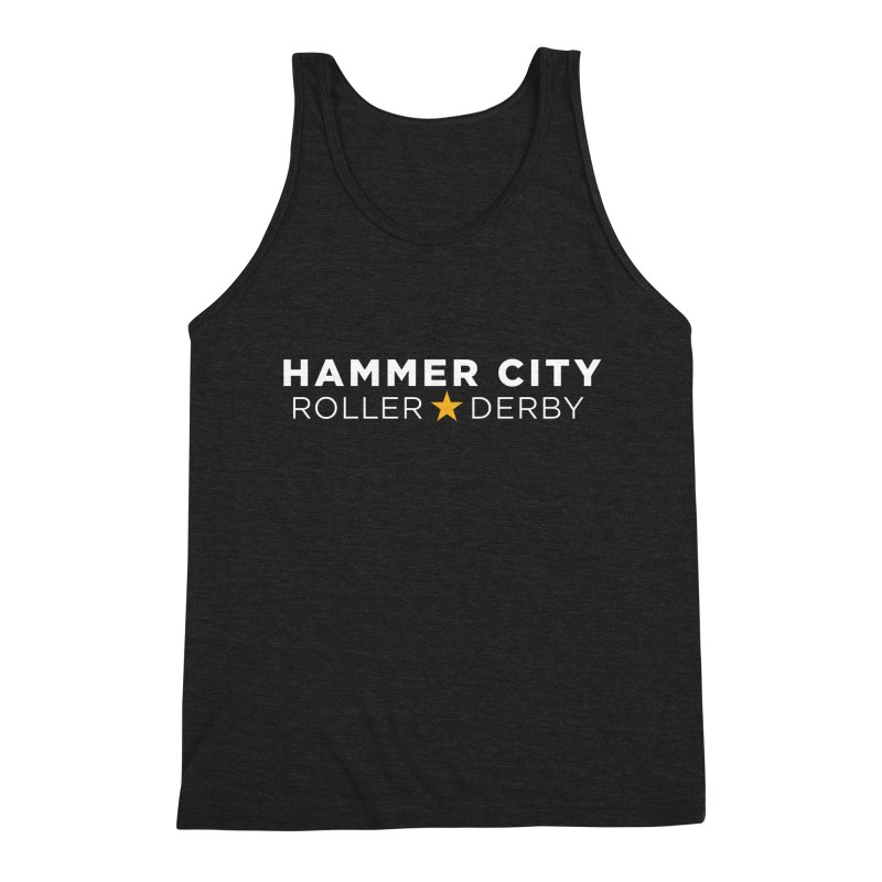 HCRD Banner Men's Triblend Tank by Hammer City Roller Derby