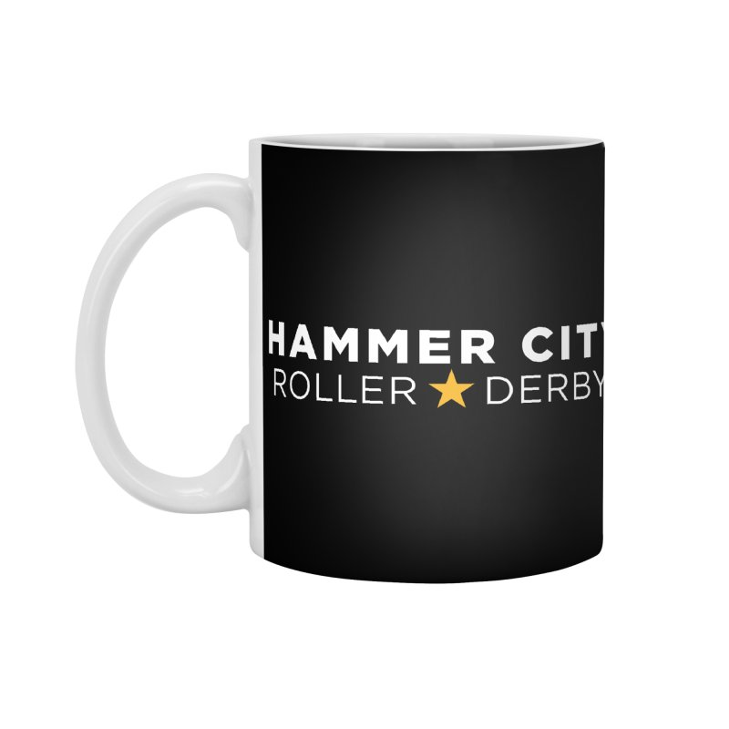 HCRD Banner Accessories Standard Mug by Hammer City Roller Derby