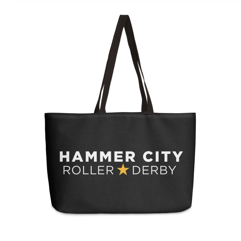 HCRD Banner Accessories Weekender Bag Bag by Hammer City Roller Derby