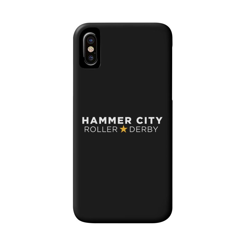 HCRD Banner Accessories Phone Case by Hammer City Roller Derby