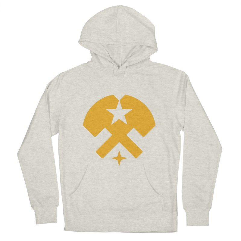 HCRD Stars and Hammers Women's Pullover Hoody by Hammer City Roller Derby