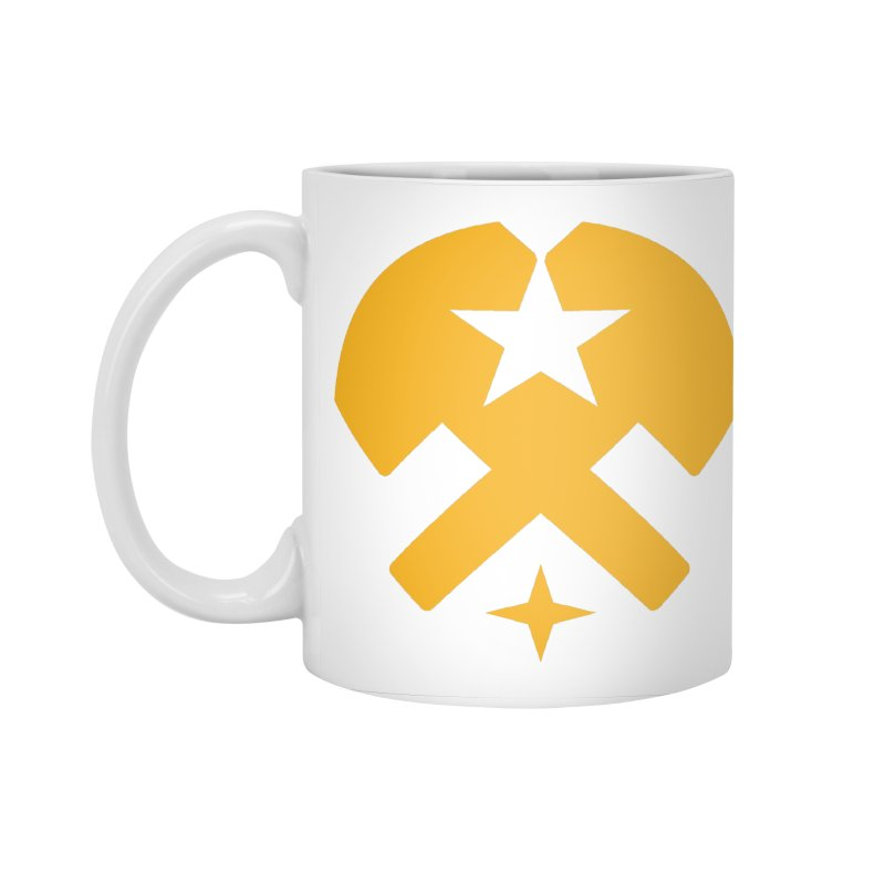 HCRD Stars and Hammers Accessories Standard Mug by Hammer City Roller Derby