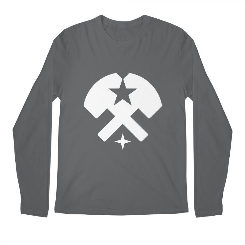 HCRD Stars and Hammers Men's Regular Longsleeve T-Shirt by Hammer City Roller Derby
