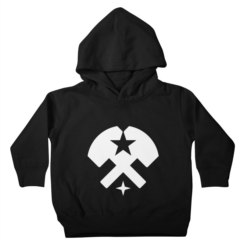 HCRD Stars and Hammers Kids Toddler Pullover Hoody by Hammer City Roller Derby