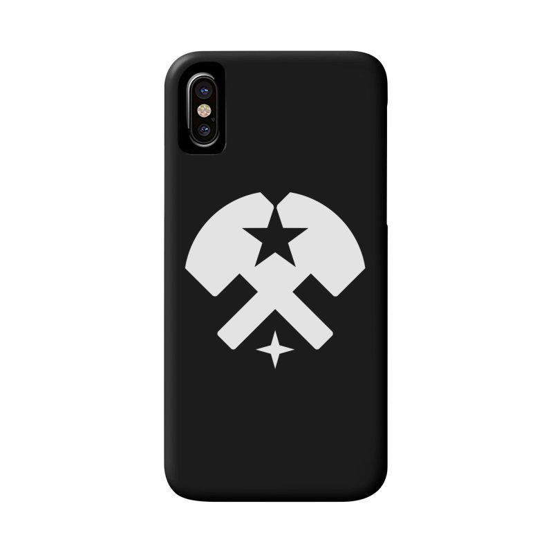 HCRD Stars and Hammers Accessories Phone Case by Hammer City Roller Derby