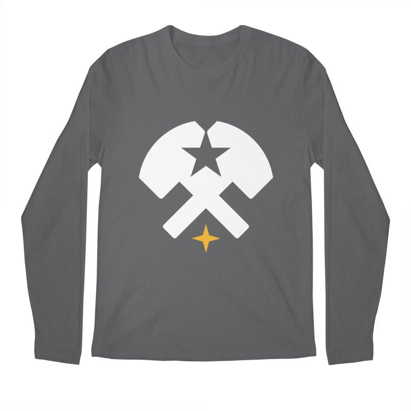 HCRD Stars and Hammers Men's Regular Longsleeve T-Shirt by Hammer City Roller Derby
