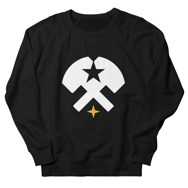 HCRD Stars and Hammers Men's Sweatshirt by Hammer City Roller Derby