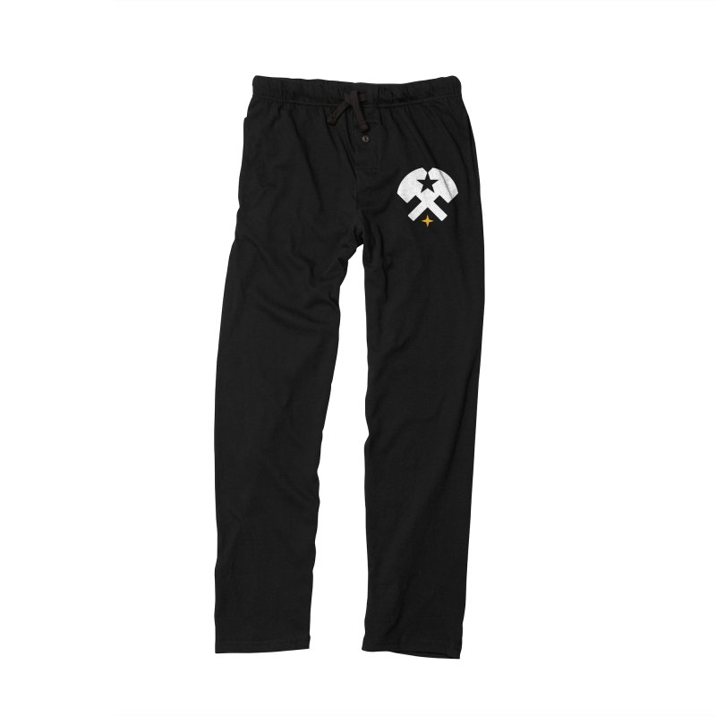 HCRD Stars and Hammers Men's Lounge Pants by Hammer City Roller Derby
