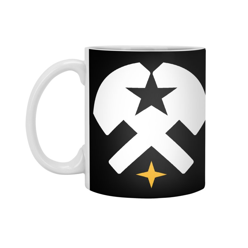 HCRD Stars and Hammers Accessories Mug by Hammer City Roller Derby