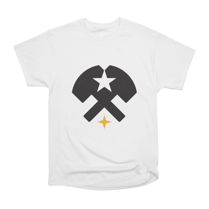 HCRD Stars and Hammers Women's Heavyweight Unisex T-Shirt by Hammer City Roller Derby