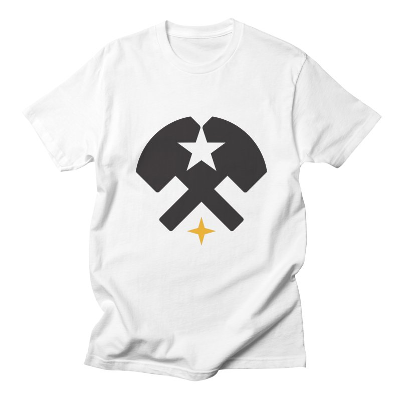 HCRD Stars and Hammers Women's Regular Unisex T-Shirt by Hammer City Roller Derby