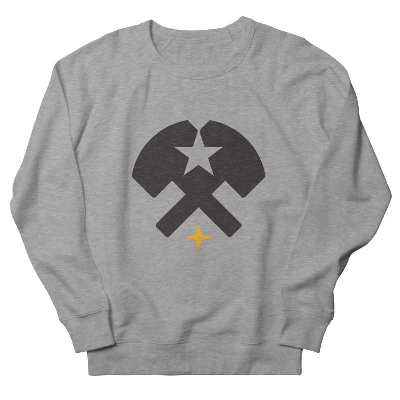 HCRD Stars and Hammers Women's French Terry Sweatshirt by Hammer City Roller Derby