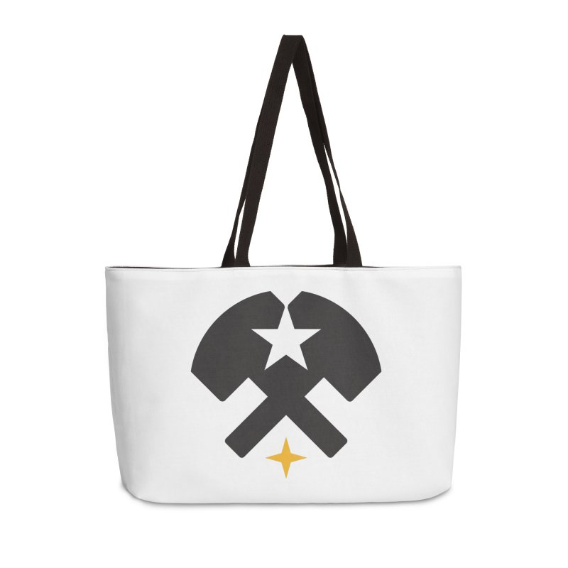 HCRD Stars and Hammers Accessories Weekender Bag Bag by Hammer City Roller Derby