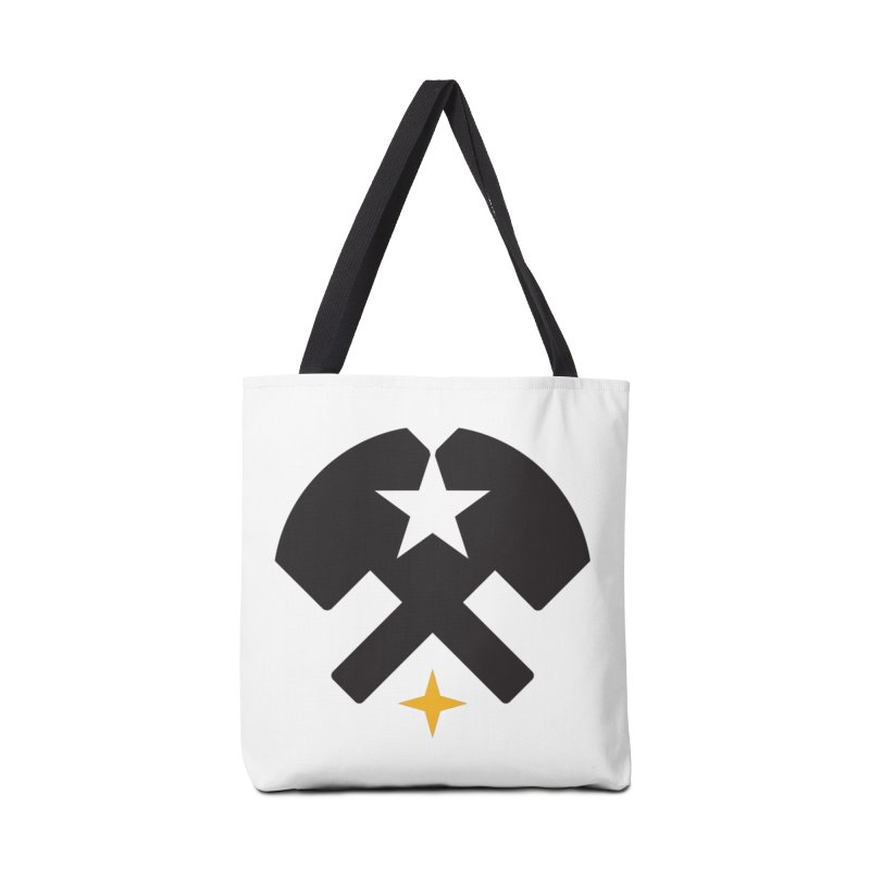 HCRD Stars and Hammers Accessories Tote Bag Bag by Hammer City Roller Derby