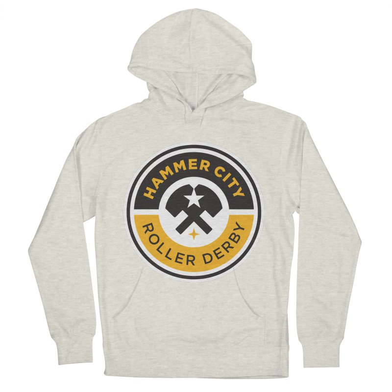 HCRD official logo Women's Pullover Hoody by Hammer City Roller Derby
