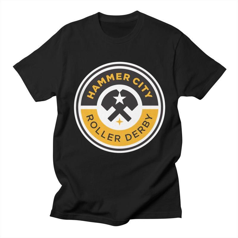 HCRD official logo Men's  by Hammer City Roller Derby