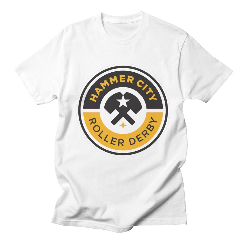 HCRD official logo Women's Regular Unisex T-Shirt by Hammer City Roller Derby