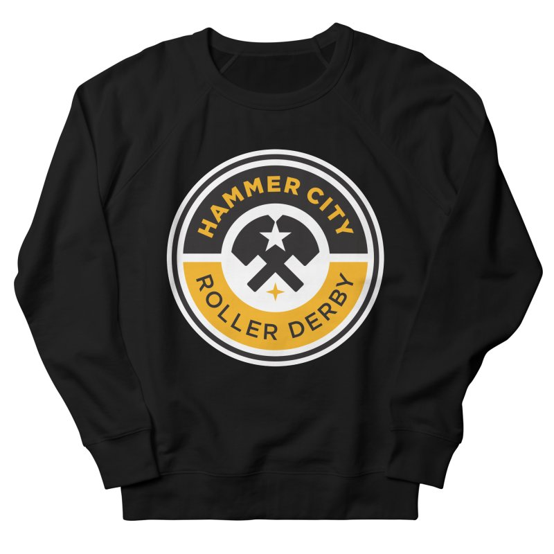 HCRD official logo Women's Sweatshirt by Hammer City Roller Derby