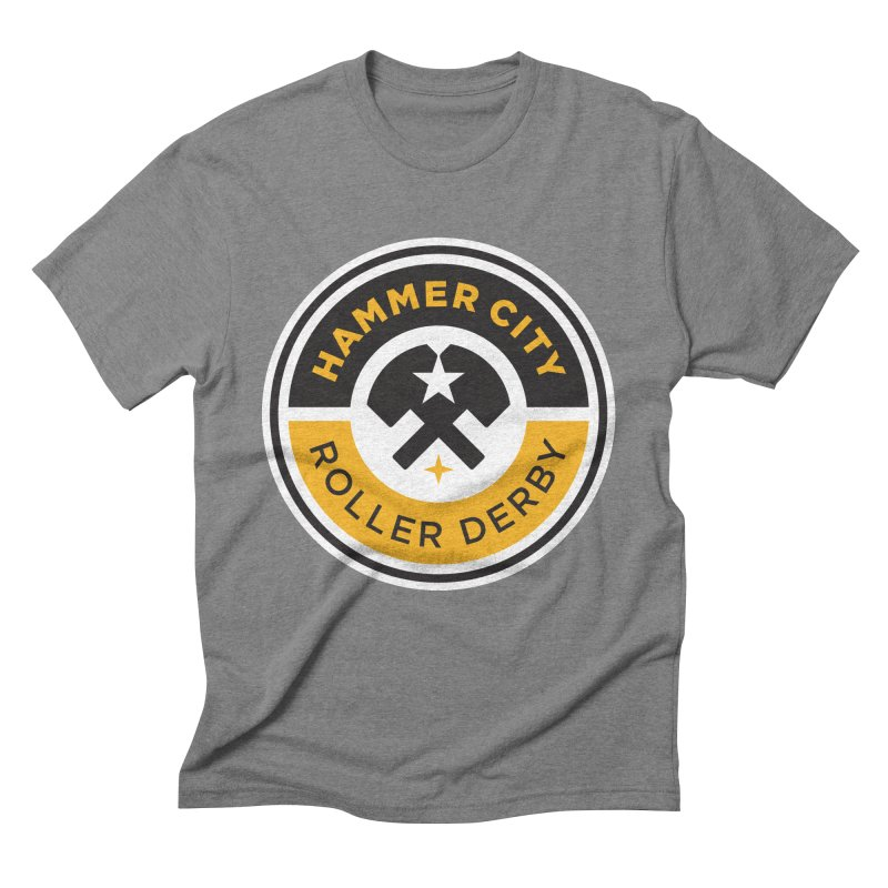 HCRD official logo Men's T-Shirt by Hammer City Roller Derby