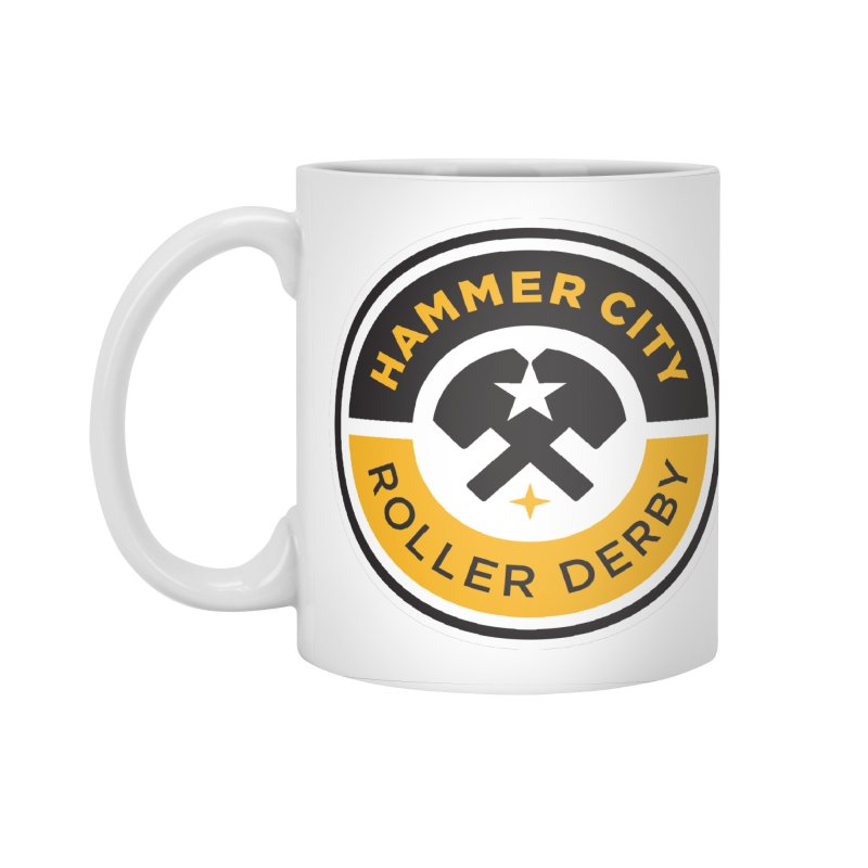 HCRD official logo Accessories Standard Mug by Hammer City Roller Derby