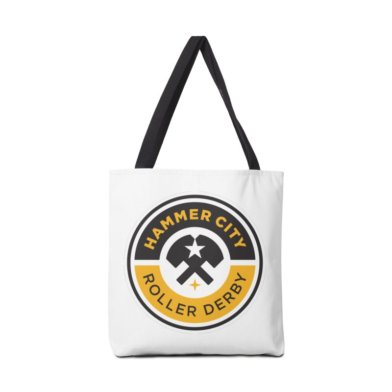 HCRD official logo Accessories Bag by Hammer City Roller Derby