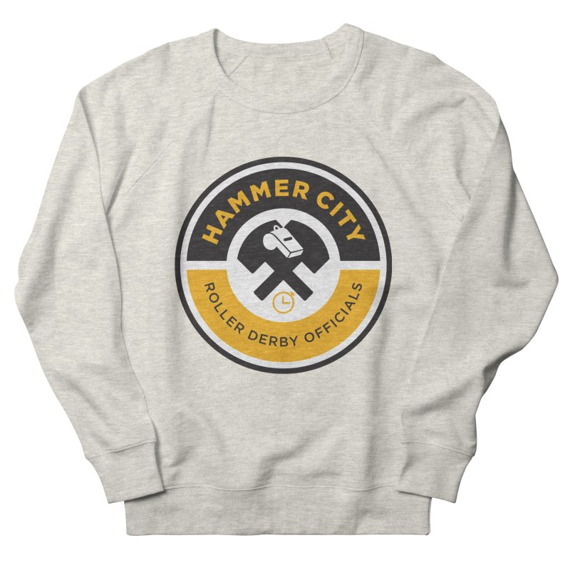 HCRD OFFICIALS Logo Women's French Terry Sweatshirt by Hammer City Roller Derby