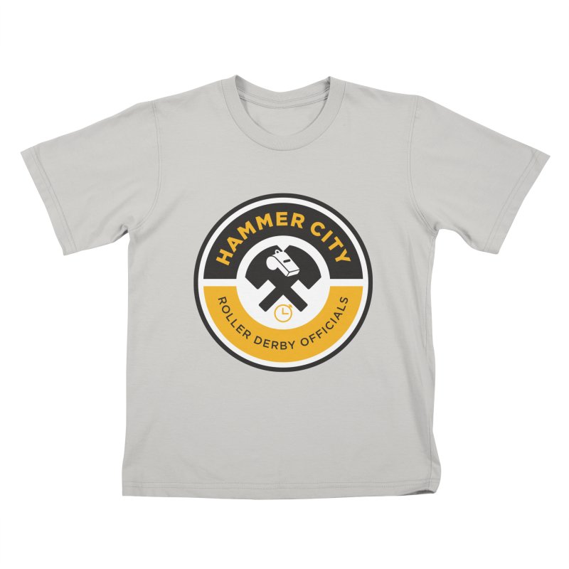 HCRD OFFICIALS Logo Kids T-Shirt by Hammer City Roller Derby