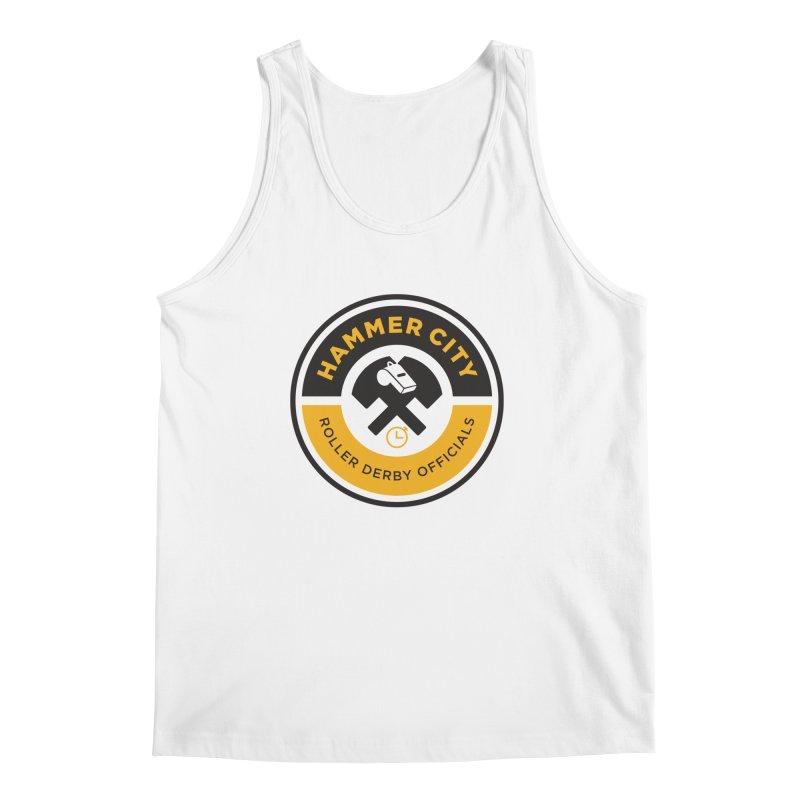 HCRD OFFICIALS Logo Men's Regular Tank by Hammer City Roller Derby