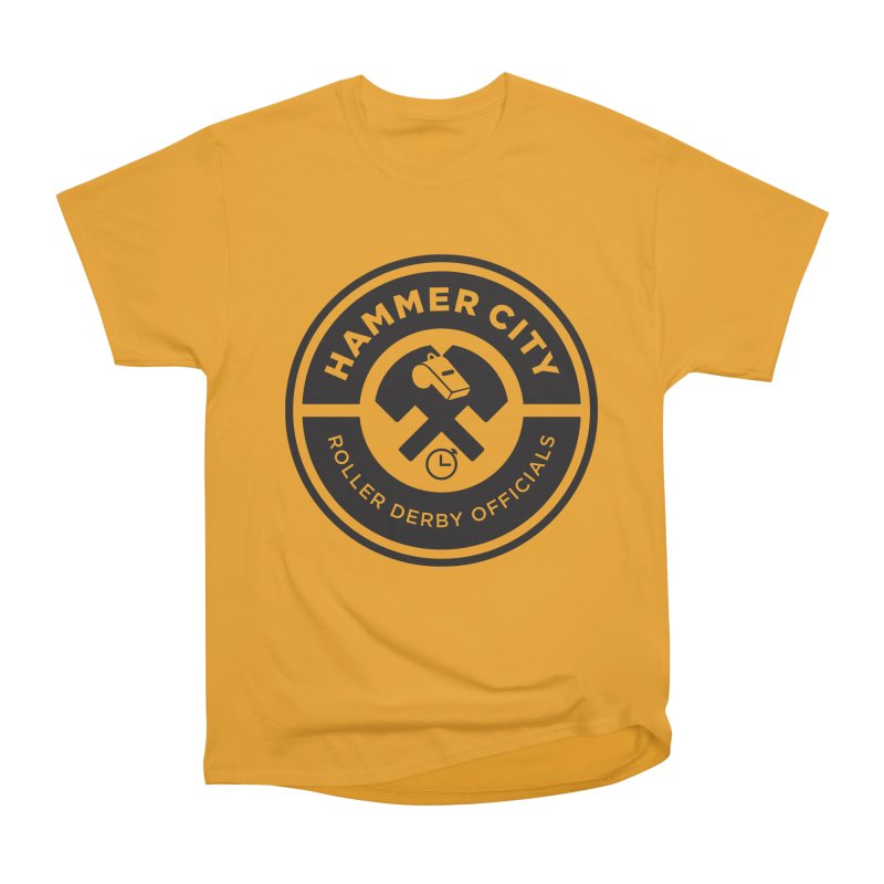 HCRD OFFICIALS Logo Men's Classic T-Shirt by Hammer City Roller Derby