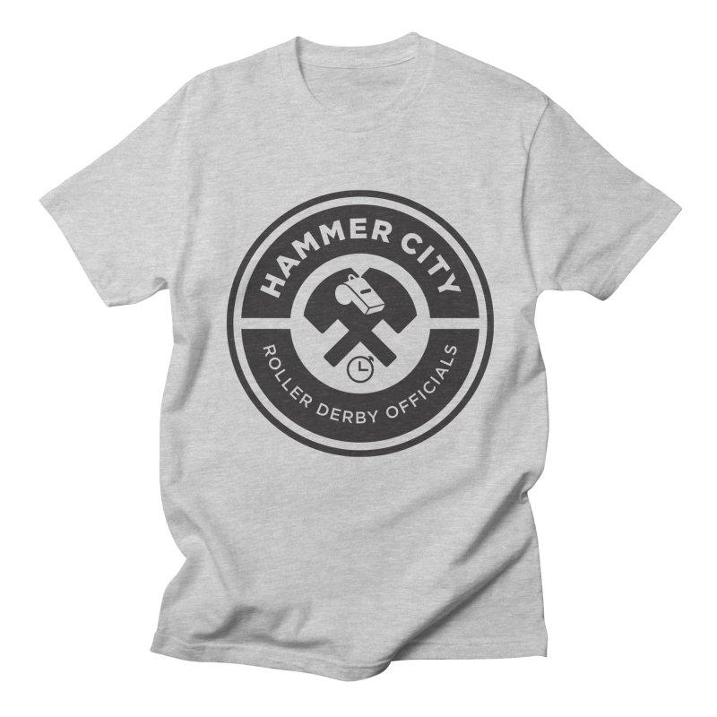 HCRD OFFICIALS Logo Women's Regular Unisex T-Shirt by Hammer City Roller Derby