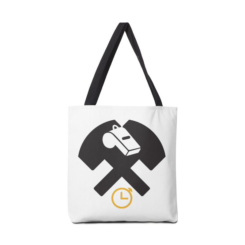 HCRD OFFICIALS Game Time Accessories Tote Bag Bag by Hammer City Roller Derby