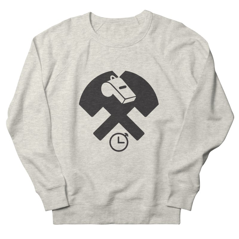 HCRD OFFICIALS Game Time Men's French Terry Sweatshirt by Hammer City Roller Derby