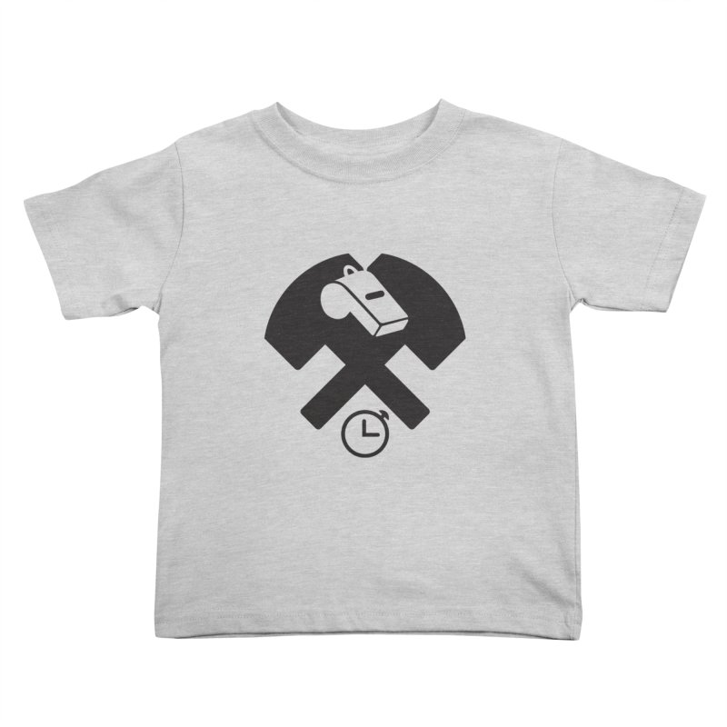 HCRD OFFICIALS Game Time Kids Toddler T-Shirt by Hammer City Roller Derby