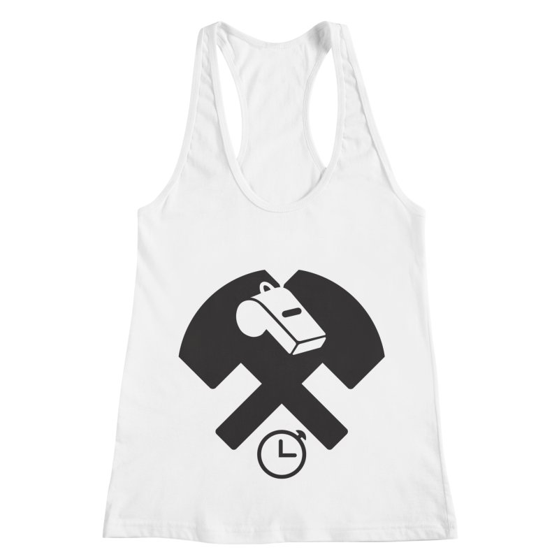 HCRD OFFICIALS Game Time Women's Racerback Tank by Hammer City Roller Derby