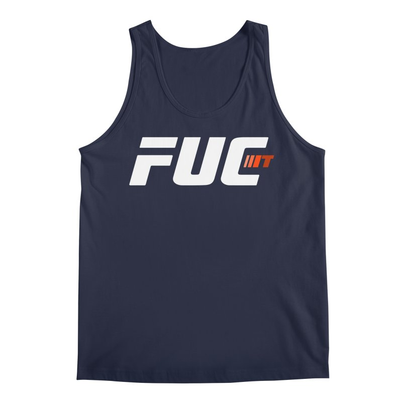 FUC It! Men's Regular Tank by Hands Up Fight Club