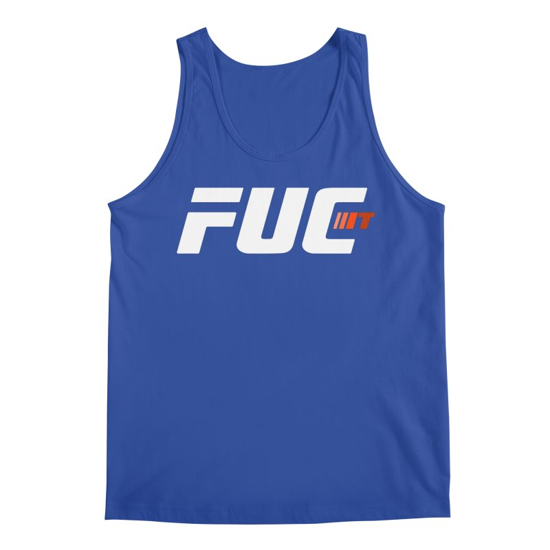 FUC It! Men's Tank by Hands Up Fight Club
