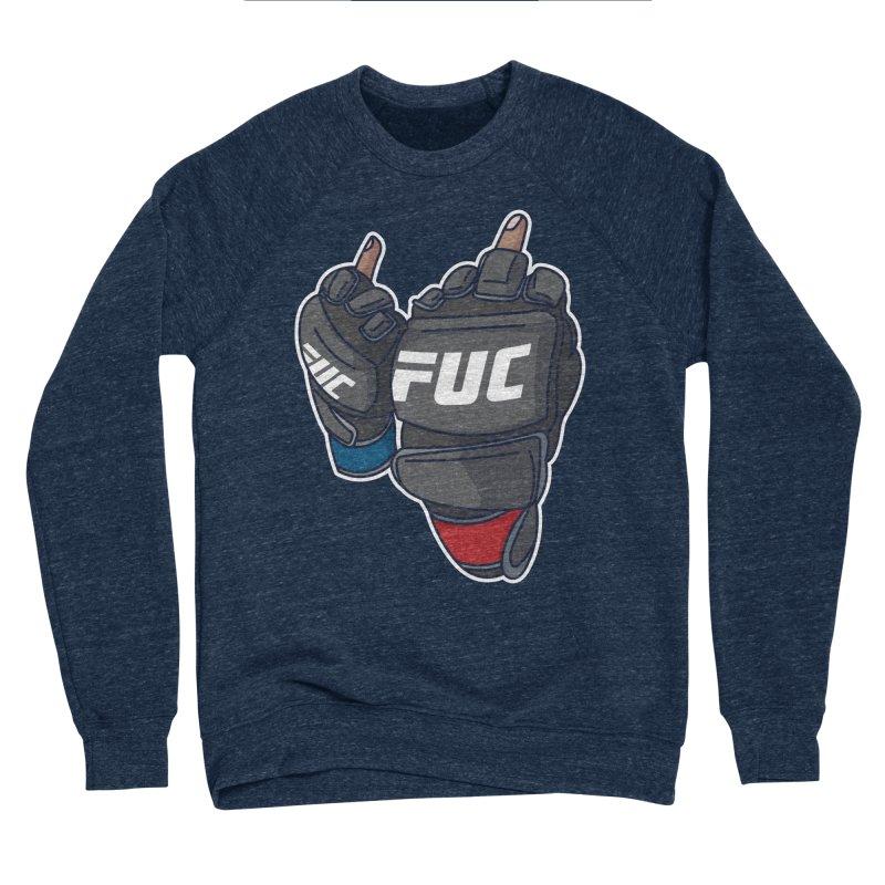 2 Big Birds Men's Sweatshirt by Hands Up Fight Club