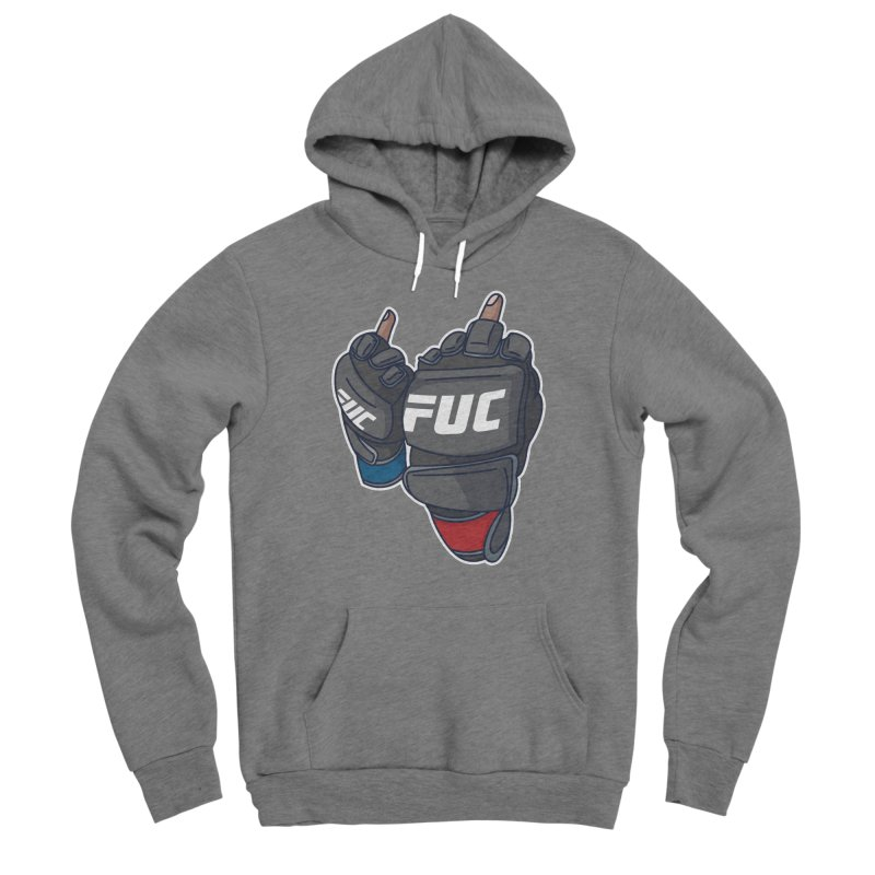 2 Big Birds Men's Pullover Hoody by Hands Up Fight Club