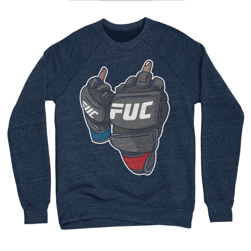 2 Big Birds Men's Sweatshirt by Hands Up Fight Club