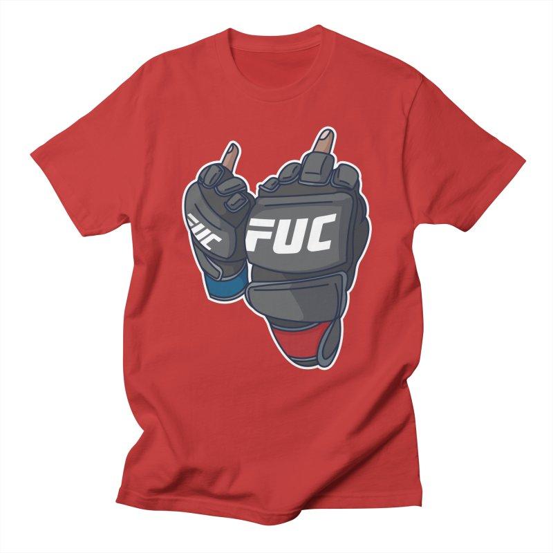 2 Big Birds Men's T-Shirt by Hands Up Fight Club