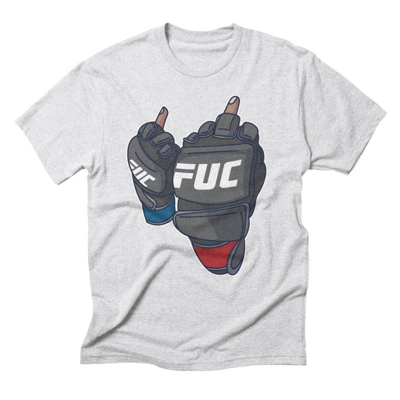 2 Big Birds Men's Triblend T-Shirt by Hands Up Fight Club